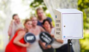 Fotobox im Freien